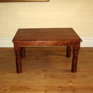 3x2ft Flat Pack Solid Acacia Wood Coffee Table Ferailles