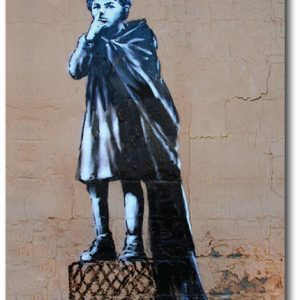 Liberty Nose Pick - Banksy Greeting Card