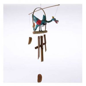 Hanging Bamboo Wind Chime – Bright Dragon - 98 cm Tall