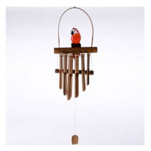 Hanging Bamboo Wind Chime – Parrot – 111 cm Tall