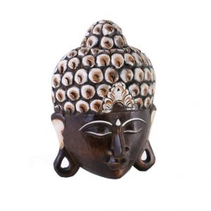 Buddha Face Mask / Hanging Wall Plaque