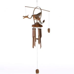 Beautiful Wind Chime. Nodding Dragon. Ideal for the garden, conservatory or kids room. Simple great fun gift