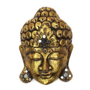 Golden Buddha Mask