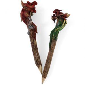 Dragon - Handmade Thai Twig Pencils - ferailles.co.uk