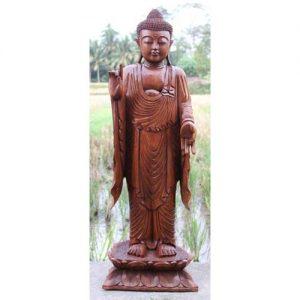 107cm standing buddha ferailles.co.uk