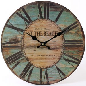 Beach Clock. ferailles.co.uk