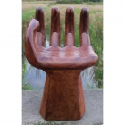Handchair Small Natural Finish ferailles.co.uk