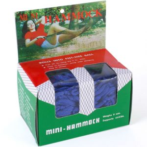 Portable Mini Garden Hammock. Fun hammocks. Ferailles.co.uk