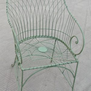 Grandad Antibe Armchair Dining Chairs Pale Green
