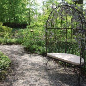 Metal Garden Arbour Bench Seat
