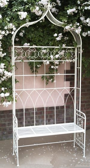Metal Garden Arbour Bench