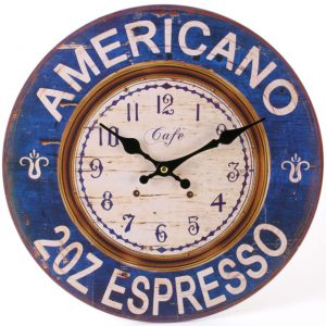 Espresso 2oz - Wall Clock