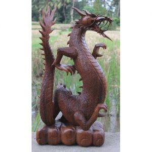 Standing Mythical Dragon XL 80cm Tall