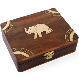 Elephant Trinket Boxes