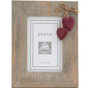 Photo Frame. Red Hearts.