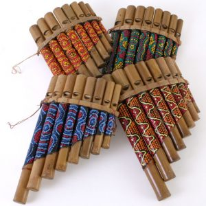 Handpainted Panpipes - Large