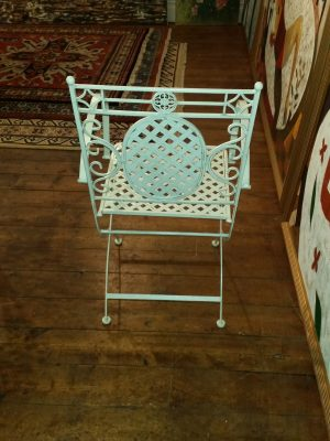 Folding Armchair - Back View