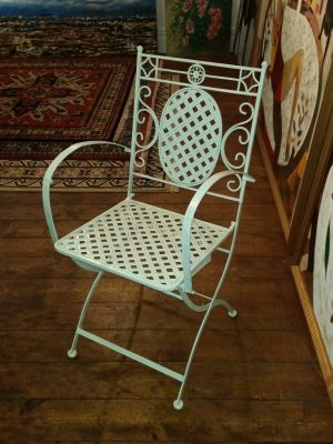 Folding Armchair - Front View
