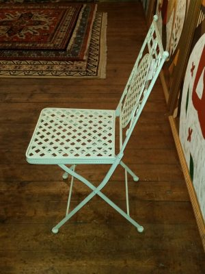 Folding Side Chair - Side View
