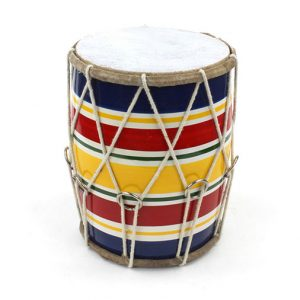 Indian Dholak Drum - Small