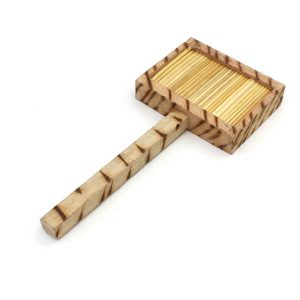 Kenyan Wooden Stick Kyamba Shaker - Tribal Instrument