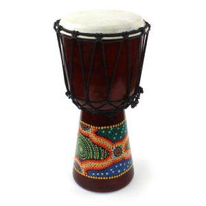 Medium djembe style african drum