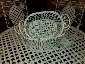 Set of 2 - Lattice Baskets. Available separately.