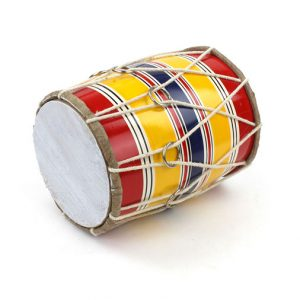 dholak colours and styles vary
