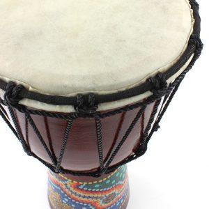 handpainted drum