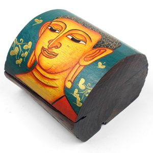 handpainted-domed-wooden-buddha-chest-with-lid