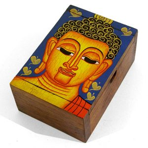 handpainted-rectangular-wooden-buddha-box-with-lid