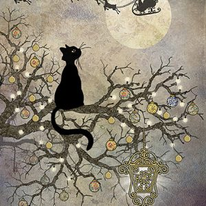 moon-cat-christmas-card