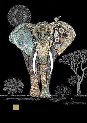 decorative-elephant-jewels-bug-art-cards