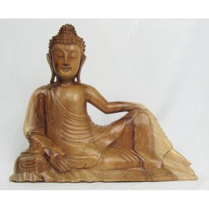 relaxed-reclining-wooden-buddha-natural-finish