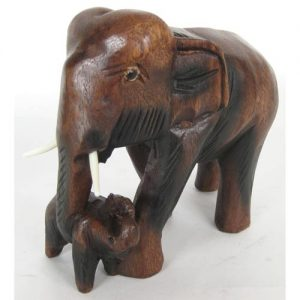 wooden-mother-and-baby-elephant-small