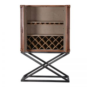 contemporary-drinks-leather-case-cabinet-open
