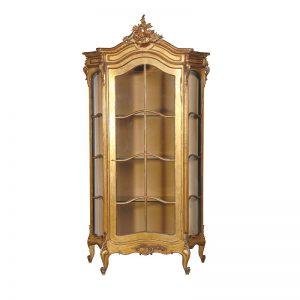 Versailles Glazed Display Cabinet. Unit