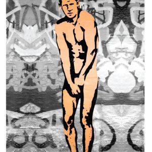Nude Harry - Pegasus Greeting Card