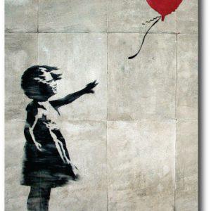 Original Balloon Girl - Banksy Greeting Card