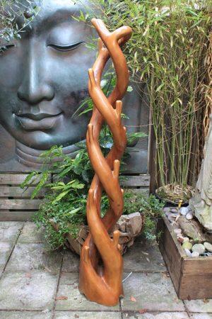 180cm DOUBLE TEAK ROOT TREE STAND