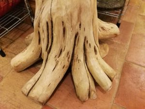70 Years Old Teak ROOT TREE STAND BASE