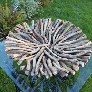 Driftwood Round Bowl. Natural
