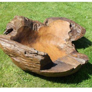 Teak Root Bowl - Gigantic. 100 cm dia