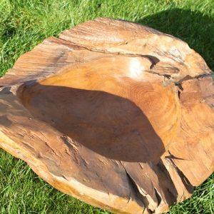 Teak Root Bowl - Large 48.55 dia cm