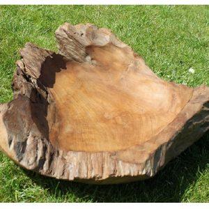 Teak Root Bowl - Medium. 40 cm dia