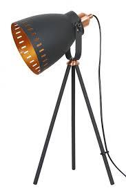 Black Copper Film Set Lamp - Small