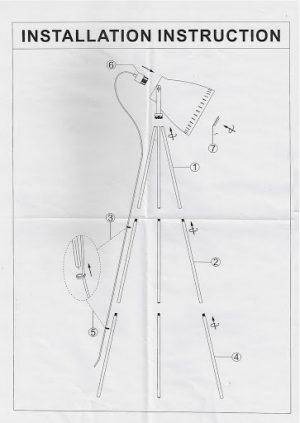 Film Set Lamp EASY instructions