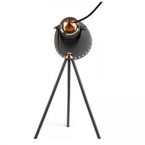 Film Set Tripod Side Table Floor Lamp - Small 50 cm - Rear view
